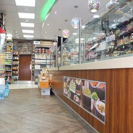 Sweet shop counter , ice cream counter
